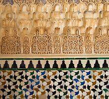 Alhambra detail 3 by Ian Fegent