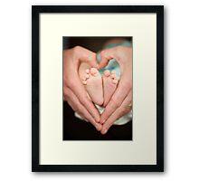 Baby Love Framed Print