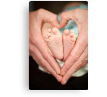 Baby Love Canvas Print