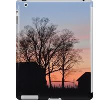 Small Town Sunset iPad Case/Skin