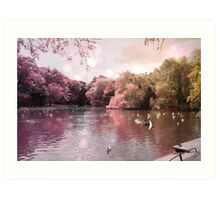 An Afternoon in St. Stephen's Green Art Print