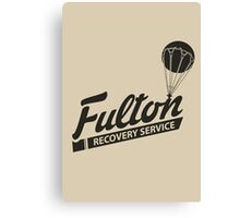 Fulton Recovery Service Canvas Print