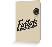 Fulton Recovery Service Greeting Card