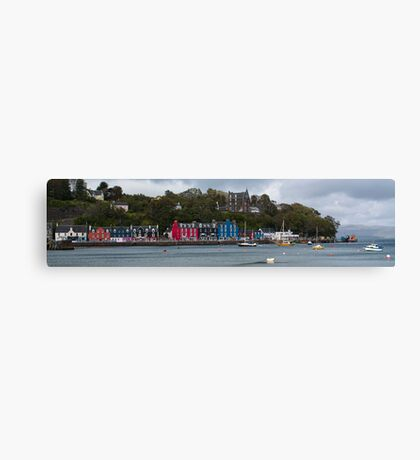 Colourful Tobermory Canvas Print