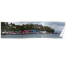 Colourful Tobermory Poster