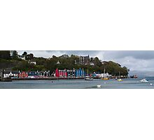 Colourful Tobermory Photographic Print