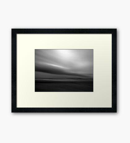 Storm Front Framed Print