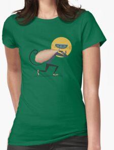 Cat Burglar Womens Fitted T-Shirt