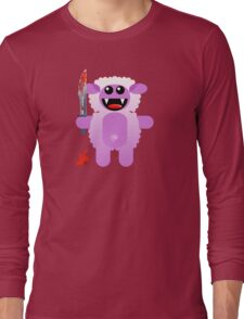 SHEEP 2 (Cute pet with a sharp knife!) Long Sleeve T-Shirt