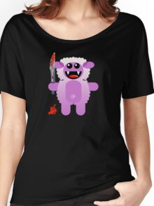 SHEEP 2 (Cute pet with a sharp knife!) Women's Relaxed Fit T-Shirt