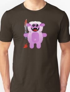 SHEEP 2 (Cute pet with a sharp knife!) Unisex T-Shirt
