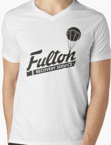 Fulton Recovery Service - Damaged Mens V-Neck T-Shirt
