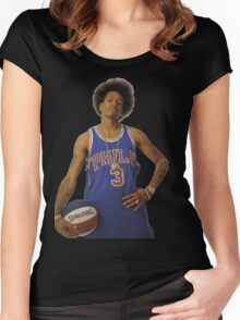 Allen Iverson Women's Fitted Scoop T-Shirt