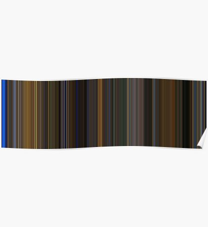 Moviebarcode: Gattaca (1997) [Simplified Colors] Poster