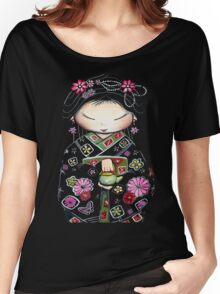 Little Green Teapot TShirt by Karin Taylor Women's Relaxed Fit T-Shirt