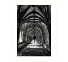 Arcade - Norwich Cathedral Art Print