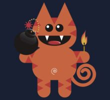 KAT 4 (Cute pet has a bomb and its alight!) by peter chebatte