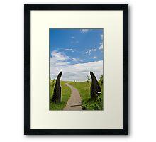 Sculptures Framed Print