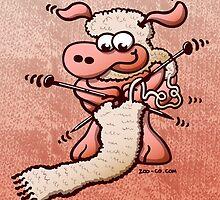 Knitting Sheep by Zoo-co