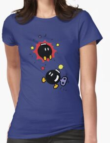 Bob-ombs Womens Fitted T-Shirt