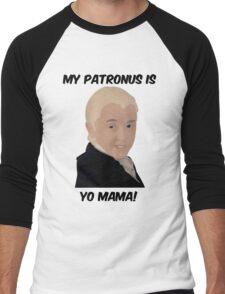 Malfoy - My Patronus Is Yo Mama Men's Baseball ¾ T-Shirt