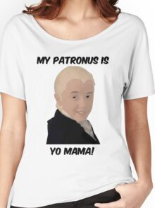 Malfoy - My Patronus Is Yo Mama Women's Relaxed Fit T-Shirt