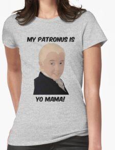 Malfoy - My Patronus Is Yo Mama Womens Fitted T-Shirt