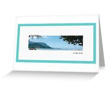 Hanalei Panorama Greeting Card