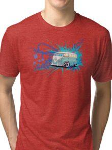 Splitty Script Tri-blend T-Shirt