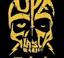 Lupe Fiasco Skull by Robert Howell
