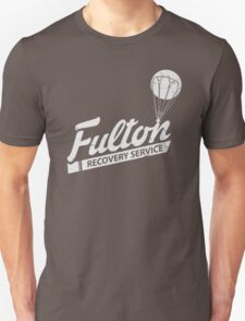 Fulton Recovery Service - White - Damaged T-Shirt