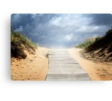 Pathway to summer Canvas Print