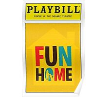 Fun Home Playbill Poster