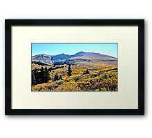 Colorado Fall Rocky Mountain Colors Framed Print