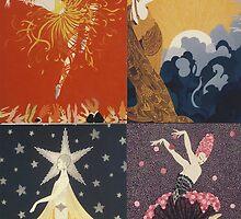 Artwork -  Erte by Penny V-P
