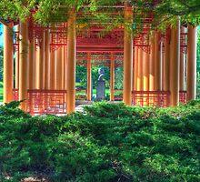 Pagoda in the Green by Adam Bykowski