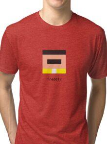 Pixelebrity - Freddie Tri-blend T-Shirt