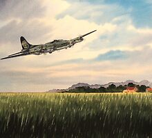 B17 Flying Fortress by bill holkham