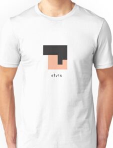 Pixelebrity - Elvis Unisex T-Shirt