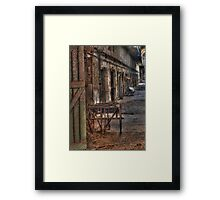 High Crimes And Misdemeanors Framed Print
