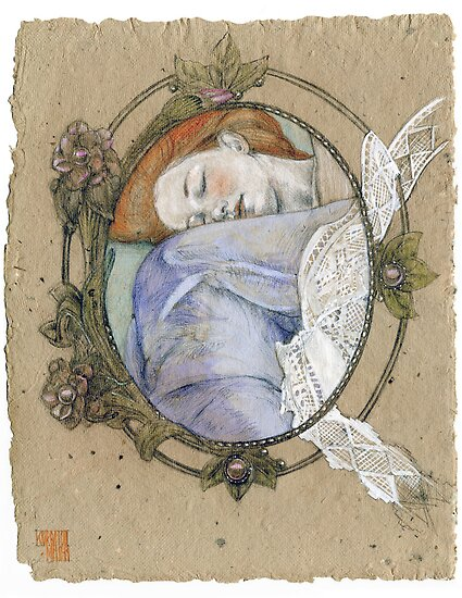 Cameos sleep  too by Masha Kurbatova