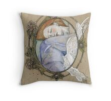 Cameos sleep  too Throw Pillow