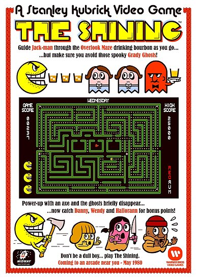 The Shining Video Game by MrWhaite