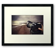 Me and My Canon Framed Print