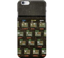 The ZX spectrum iPhone Case/Skin