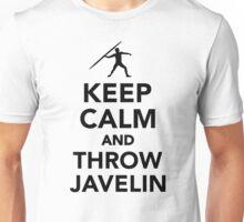 Keep calm and Javelin throw Unisex T-Shirt