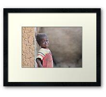 Hunger Framed Print