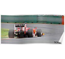 Ferrari F10 Poster