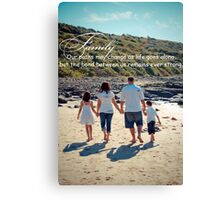 Family bond Canvas Print
