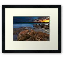 Sunset at Maroubra Framed Print